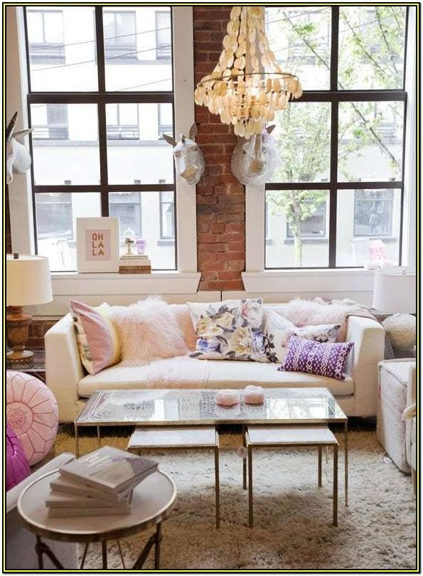 Apartment Girly Living Room Decor