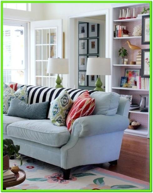 Aqua Living Room Set