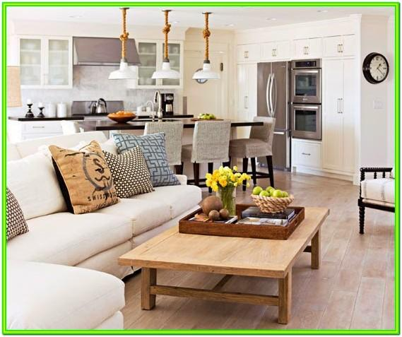 Arranging Furniture In A Large Living Room
