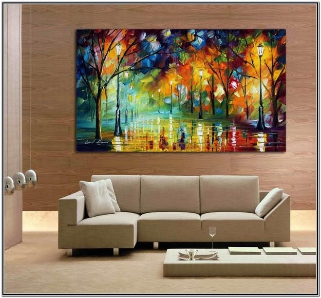 Art Creative Wall Painting Ideas For Living Room