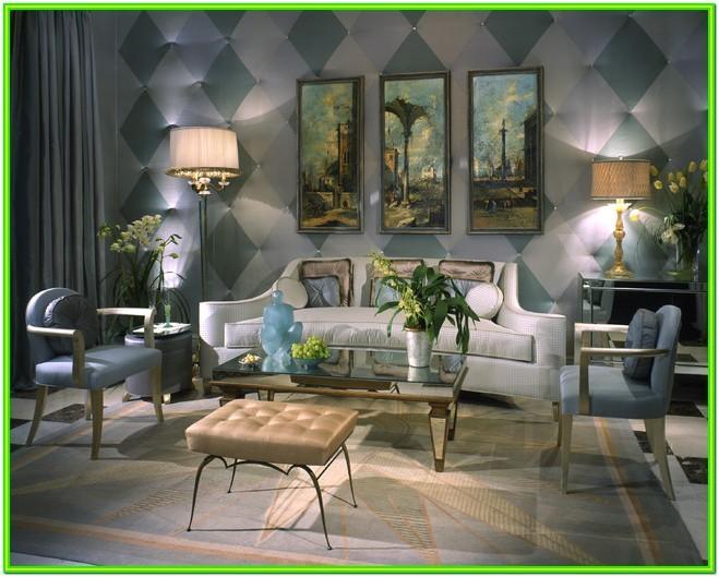 Art Deco Style Living Room Ideas