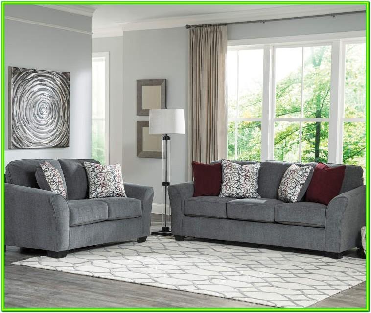 Ashley Furniture Grey Living Room Sets