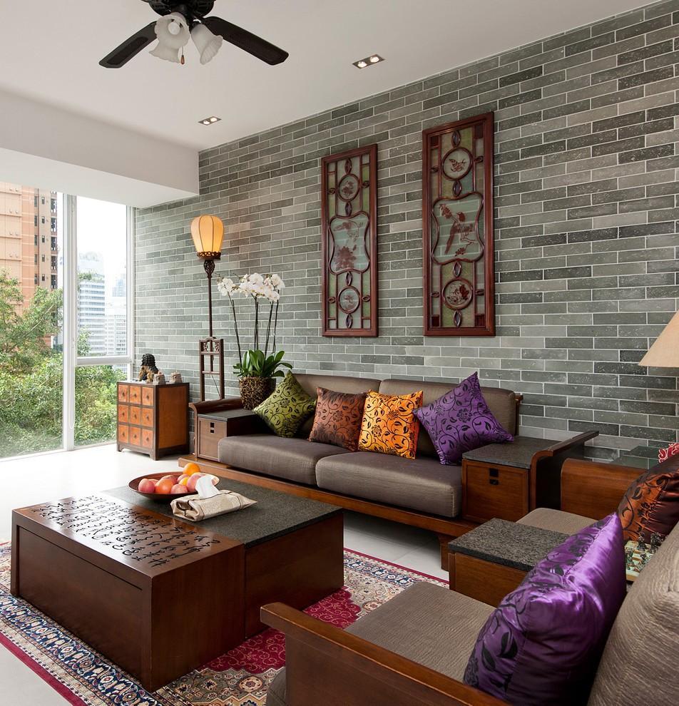 Asian Decorating Ideas Living Room