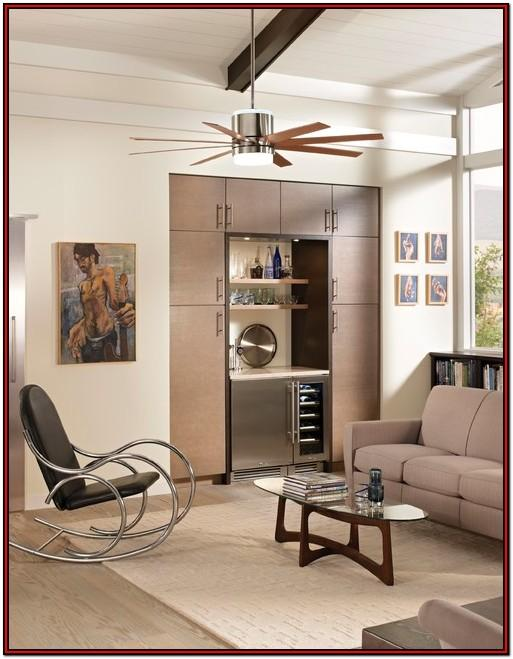 Attractive Living Room Modern Ceiling Fan