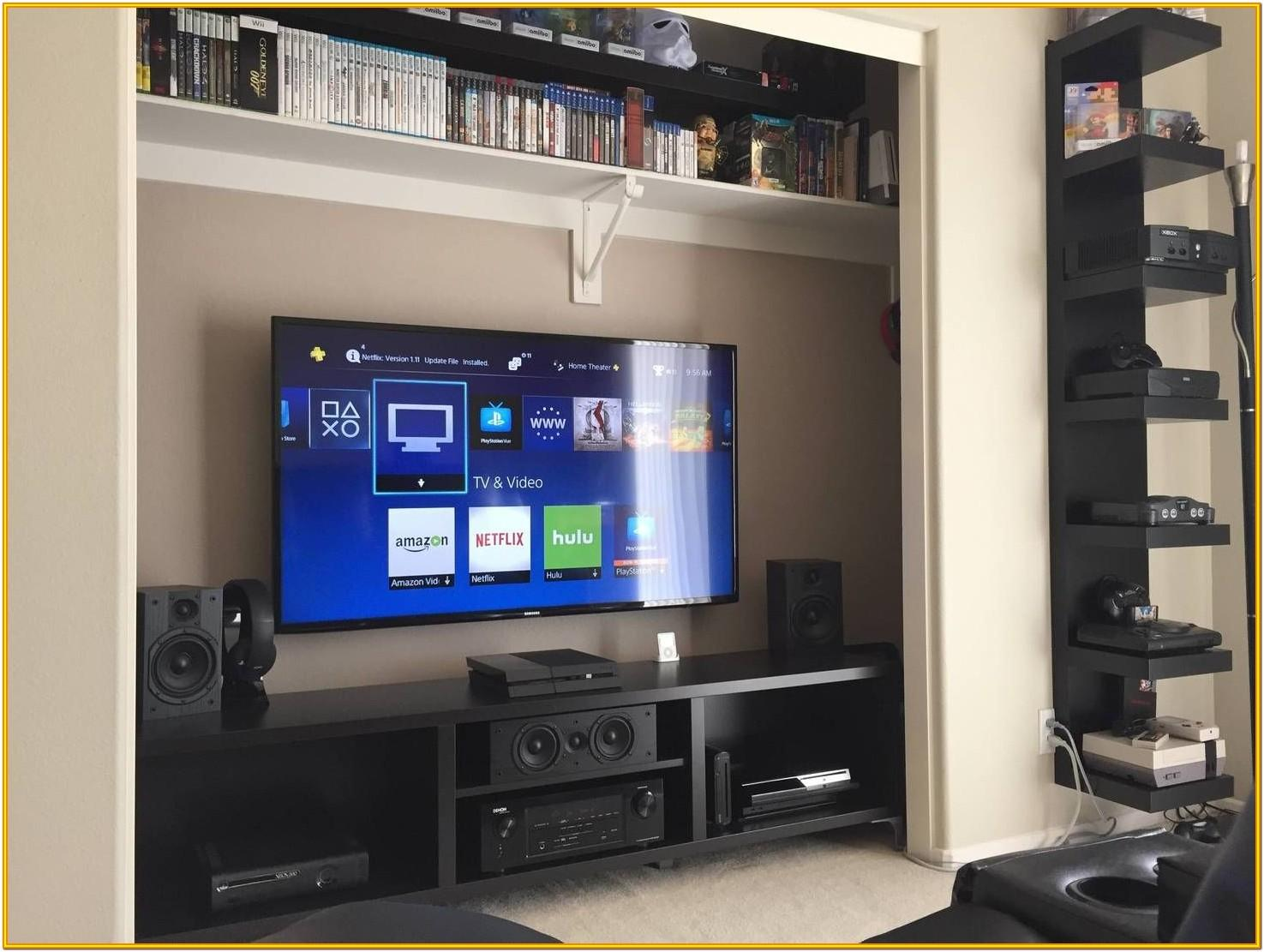 Basic Living Room Home Theater Setup