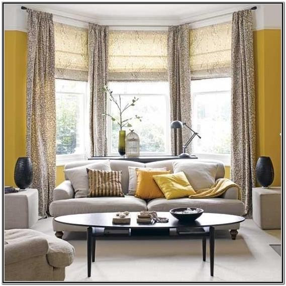 Bay Window Treatments For Living Room