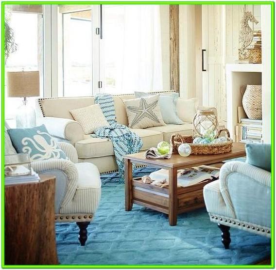 Beach House Coastal Decor Living Room