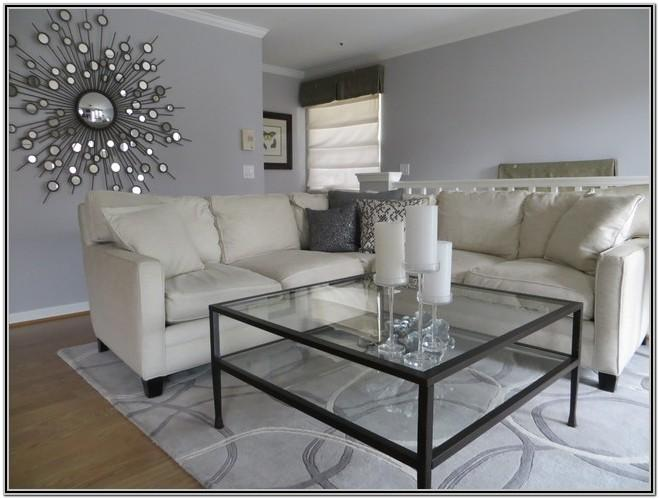 Behr Chic Gray Living Room