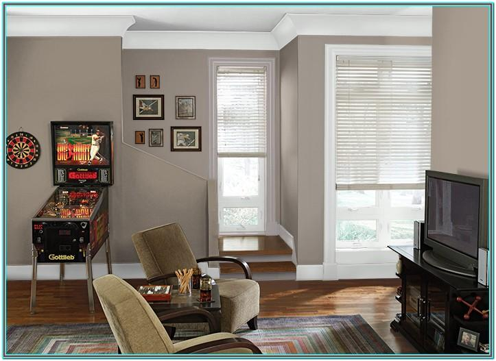 Behr Rustic Taupe Living Room