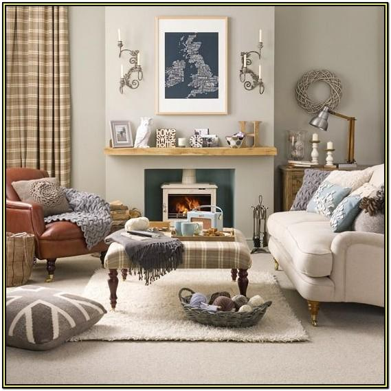 Beige Living Room Carpet