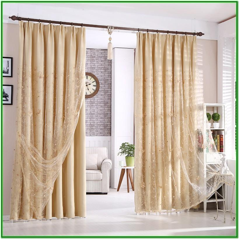 Beige Valances For Living Room