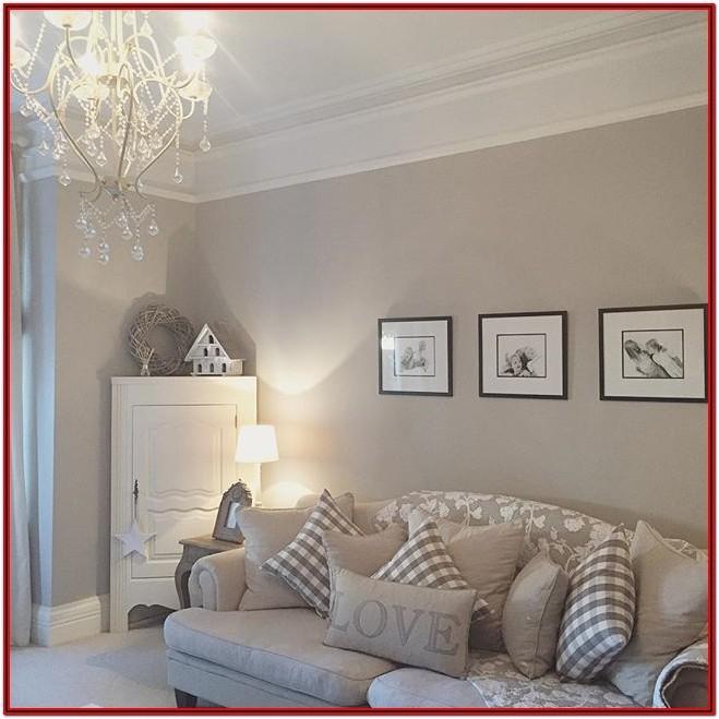 Beige White Living Room Decor Ideas