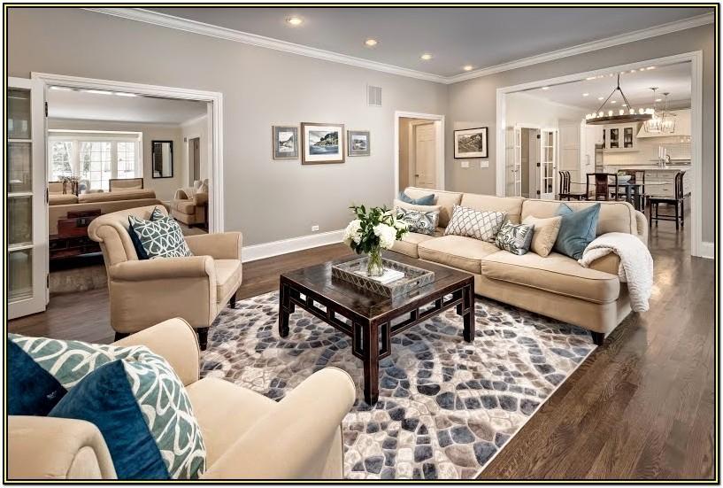 Benjamin Moore Tranquility Living Room