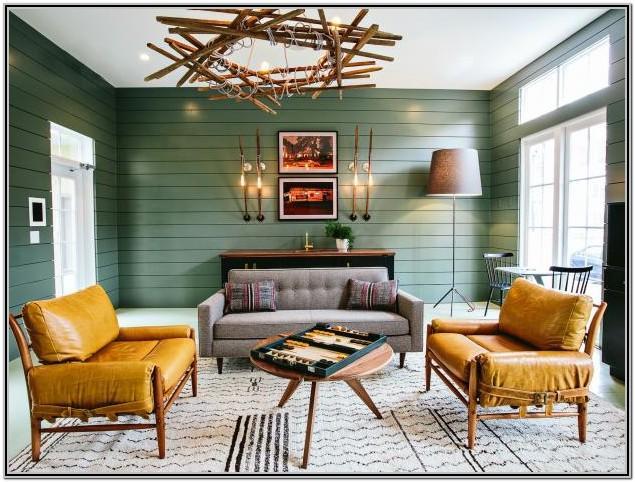 Best Green Living Room Design Ideas