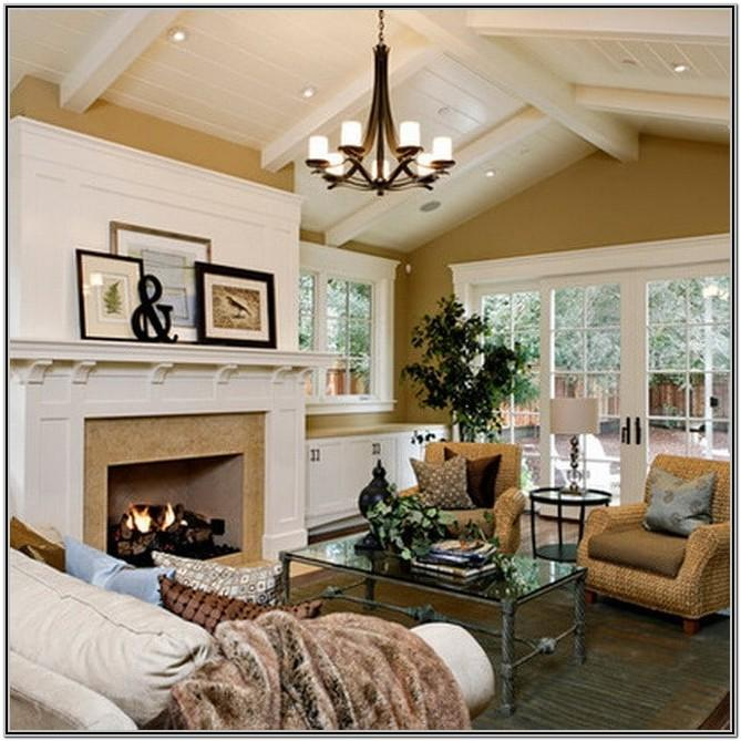 Best Living Room Layout With Fireplace