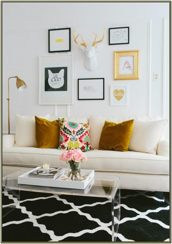 Black Girly Living Room Decor