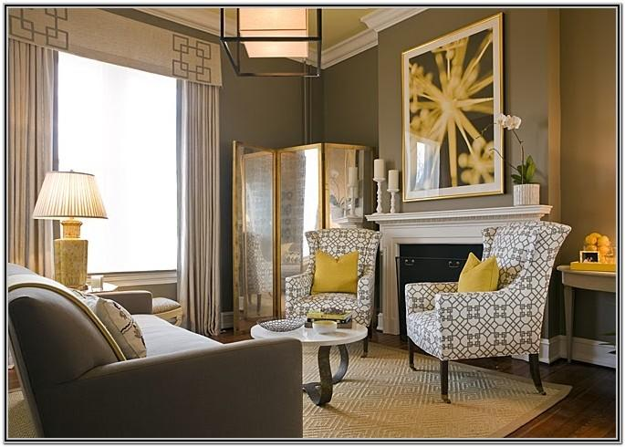 Black Grey And Gold Living Room Ideas