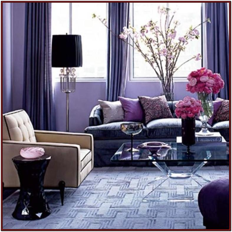 Black Purple And Brown Living Room Ideas