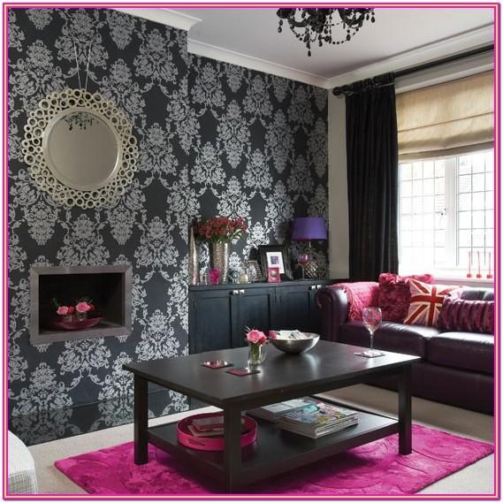 Black Red And Silver Living Room Ideas