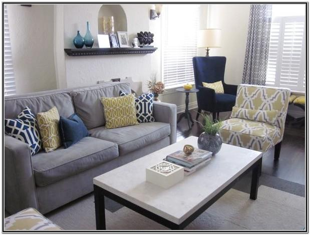 Blue And Grey Living Room Designs