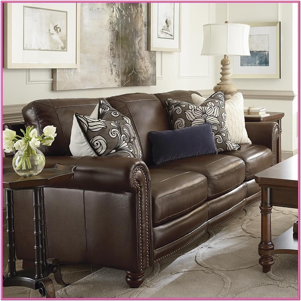 Brown Leather Couch Living Room Ideas