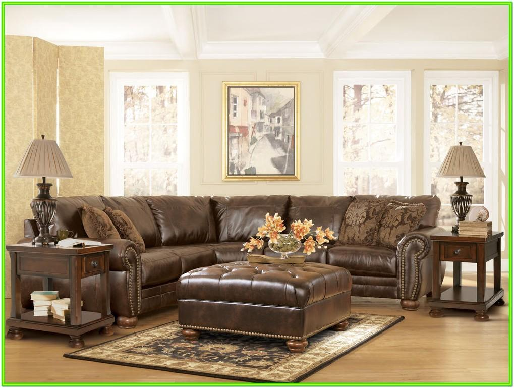 Brown Leather Living Room Ashley Furniture