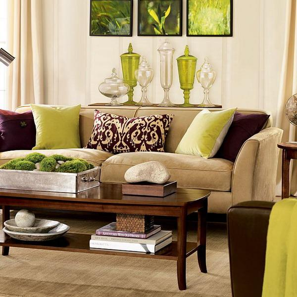 Brown Living Room Colors