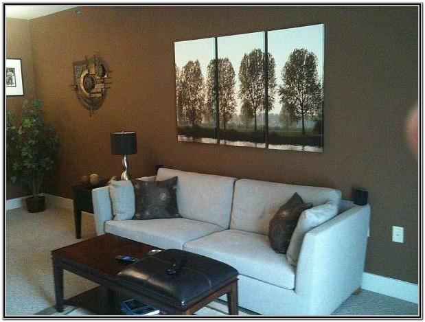 Brown Paint Living Room