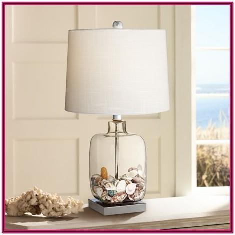 Clear Glass Table Lamps For Living Room