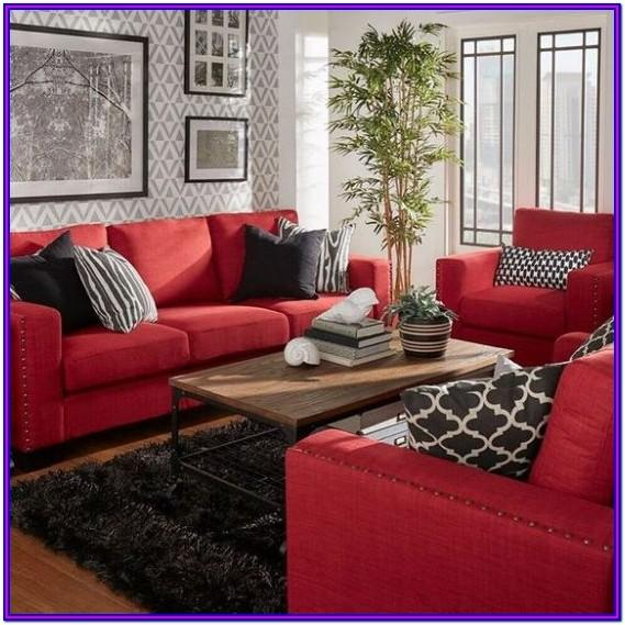 Couch Red Leather Sofa Living Room Ideas