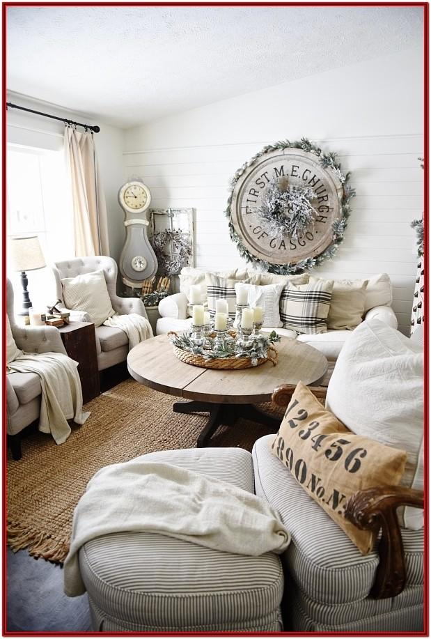 Cozy Winter Living Room Decor