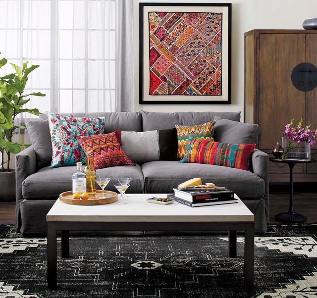 Crate And Barrel Living Room Design