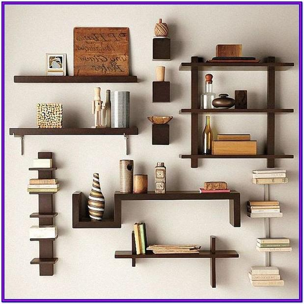 Creative Decorative Wall Shelves For Living Room