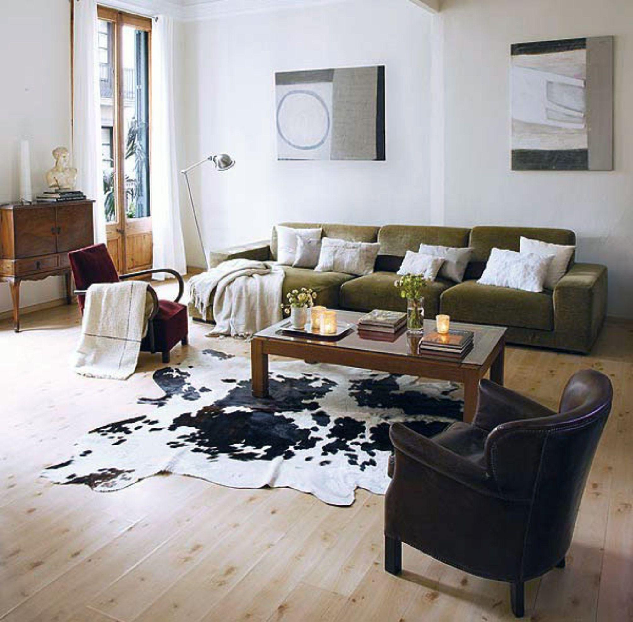 Dark Green Rug Living Room