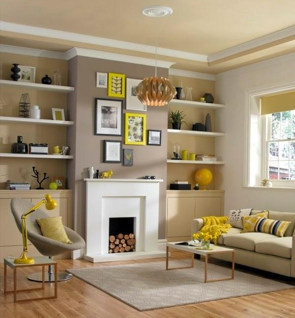 Decorative Shelf Ideas For Living Room