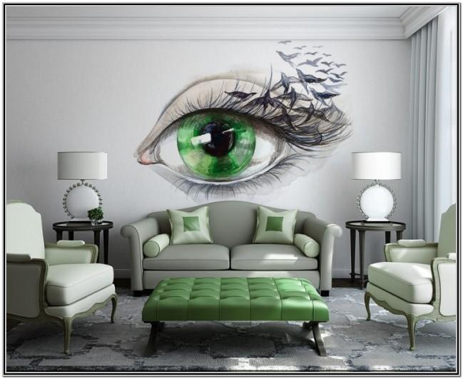 Design Creative Wall Painting Ideas For Living Room