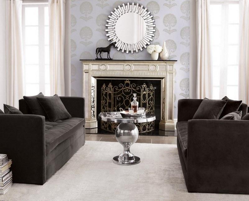 Elegant Mirrors For Living Room