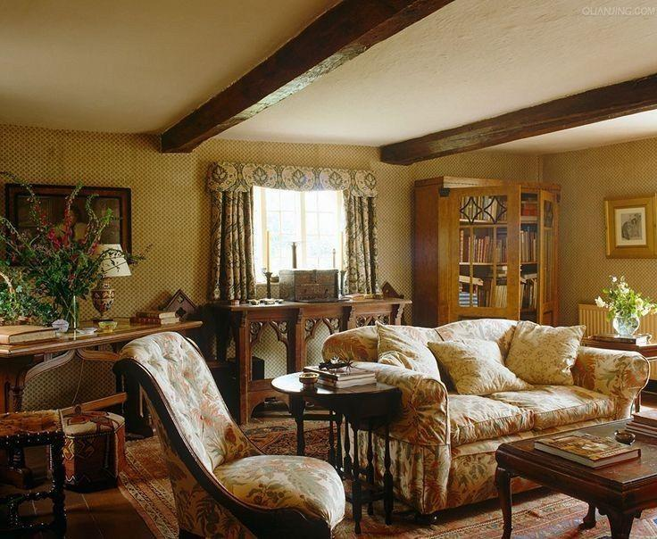 English Cottage Living Room Ideas