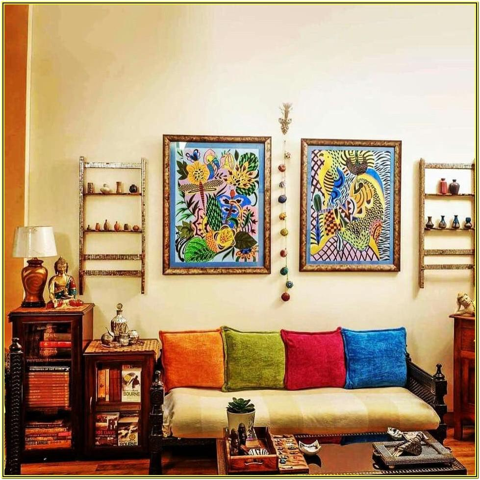 Ethnic Living Room Designs Indian Style