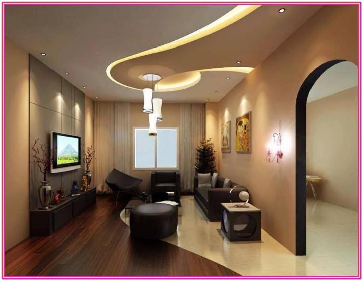 False Ceiling Designs For Living Room With Two Fans