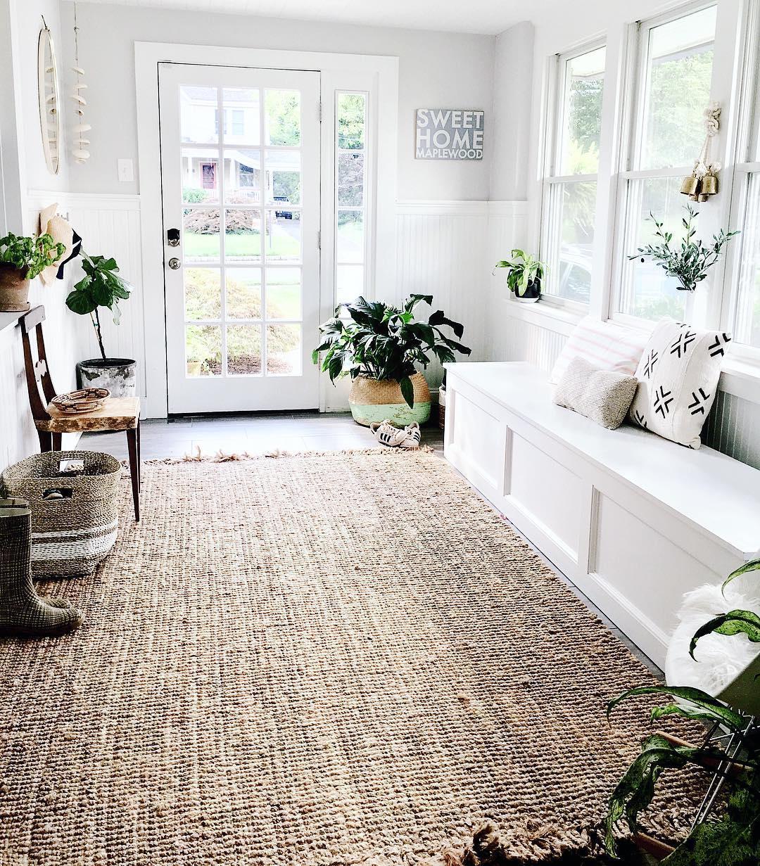 Farmhouse Living Room Area Rugs