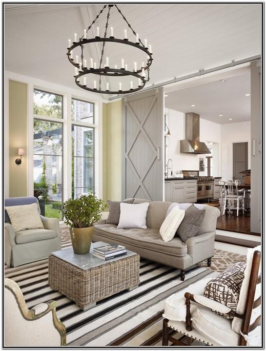 Farmhouse Living Room Design Ideas