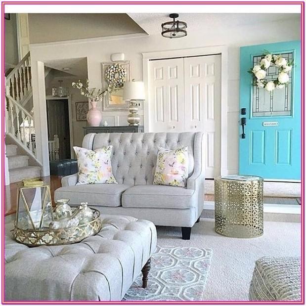 Farmhouse Style Living Room Furniture Ideas
