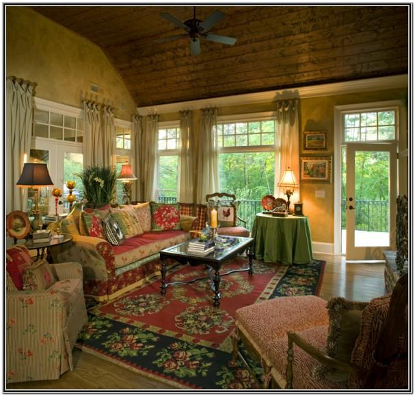 French Country Living Room Images