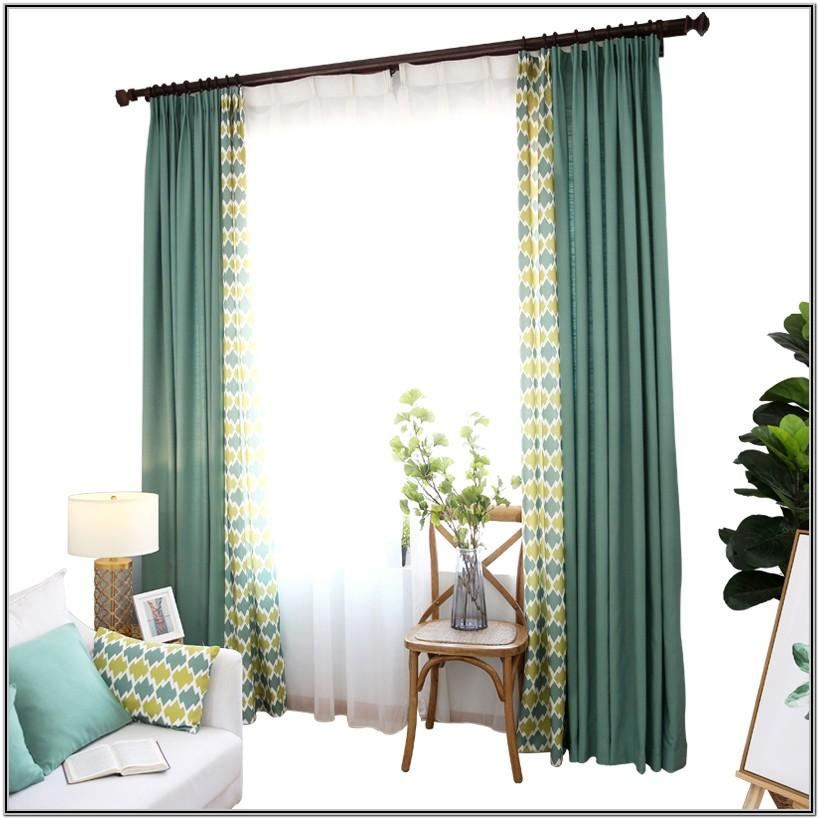 Funky Curtains For Living Room