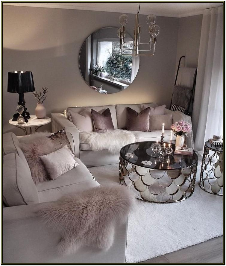 Girly Cozy Living Room Decor