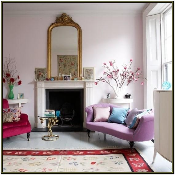 Girly Feminine Living Room Decor