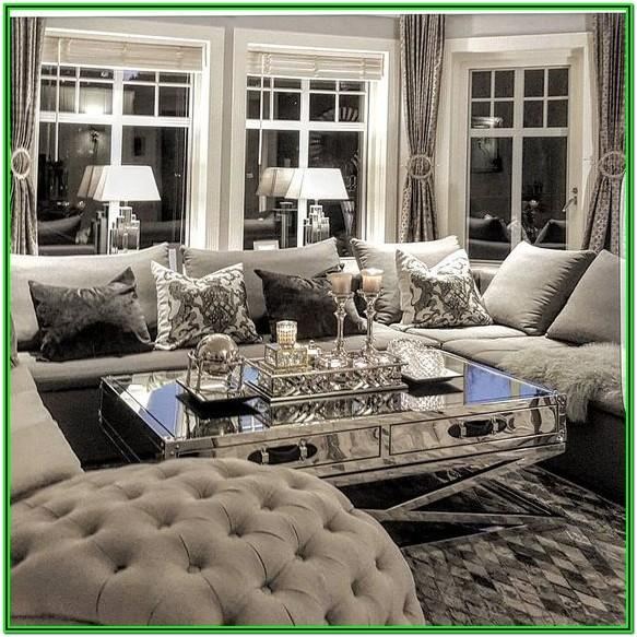 Glamorous Luxury Living Room Decor Ideas