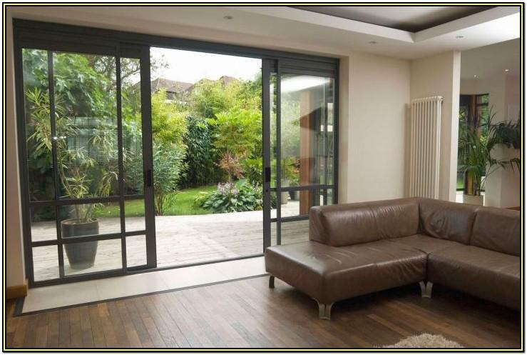 Glass Wood Door Designs For Living Room