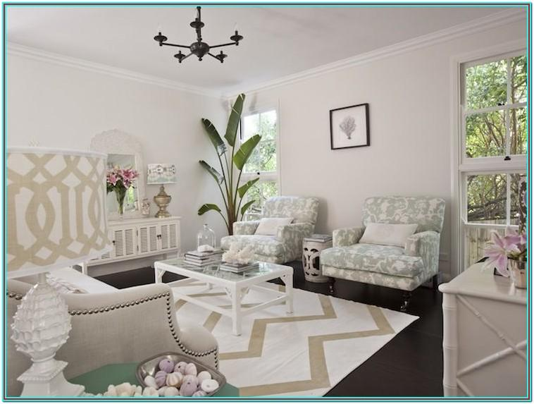 Gray And Seafoam Green Living Room